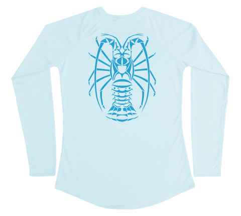 Spiny Lobster Performance Build-A-Shirt (Women - Back / AB)