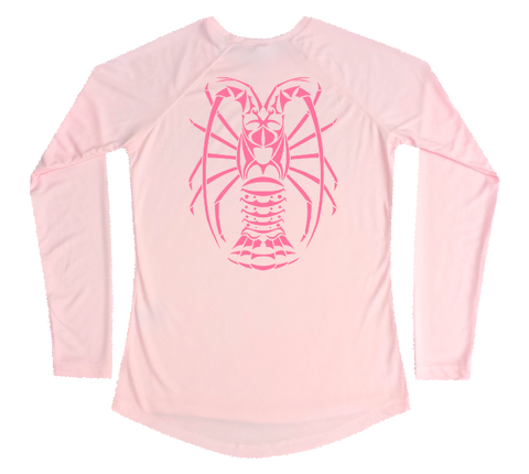 Spiny Lobster Performance Build-A-Shirt (Women - Back / PB)