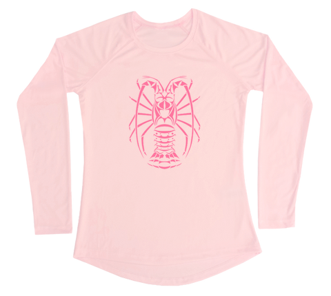 Spiny Lobster Performance Build-A-Shirt (Women - Front / PB)