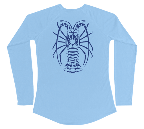 Spiny Lobster Performance Build-A-Shirt (Women - Back / CB)