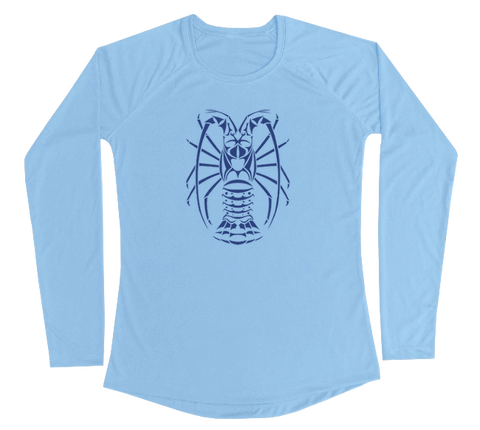 Spiny Lobster Performance Build-A-Shirt (Women - Front / CB)