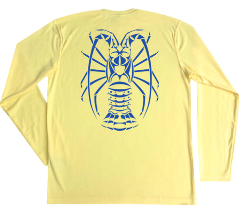 Spiny Lobster Performance Build-A-Shirt (Back / PY)