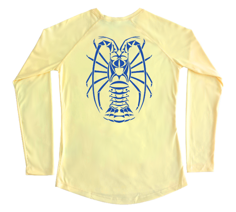 Spiny Lobster Performance Build-A-Shirt (Women - Back / PY)