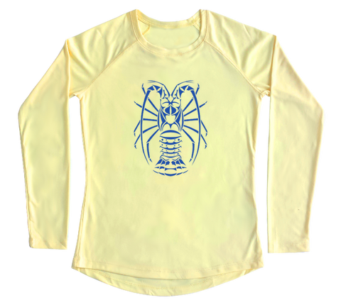 Spiny Lobster Performance Build-A-Shirt (Women - Front / PY)