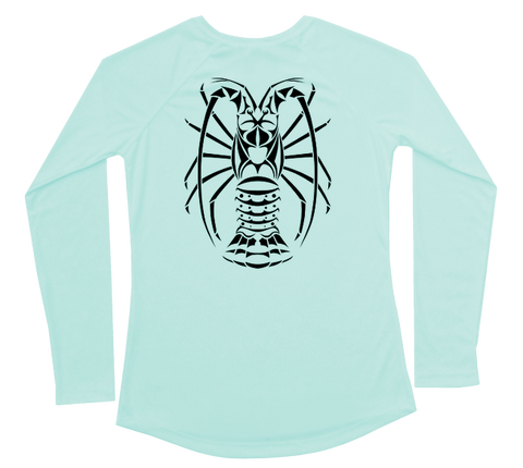 Spiny Lobster Performance Build-A-Shirt (Women - Back / SG)