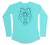 Spiny Lobster Performance Build-A-Shirt (Women - Back / WB)