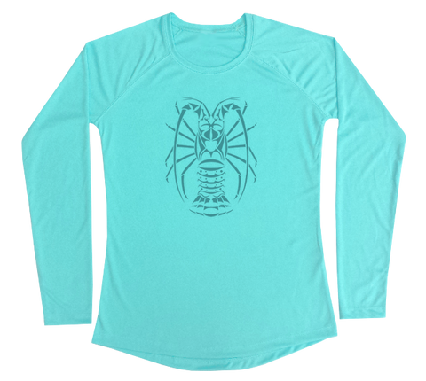 Spiny Lobster Performance Build-A-Shirt (Women - Front / WB)