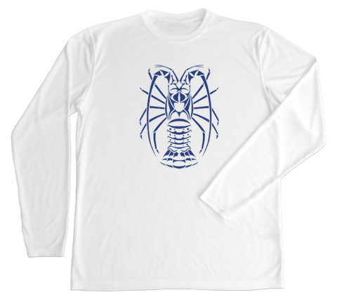 Spiny Lobster Performance Build-A-Shirt (Front / WH)