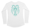 Spiny Lobster Performance Build-A-Shirt (Women - Back / WH)