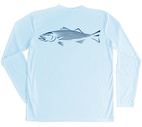 Striped Bass Performance Build-A-Shirt (Back / AB)