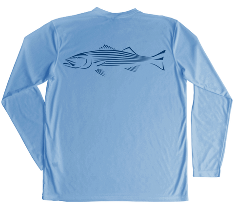 Striped Bass Performance Build-A-Shirt (Back / CB)