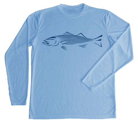 Striped Bass Performance Build-A-Shirt (Front / CB)