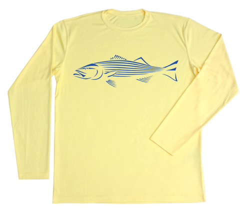 Striped Bass Performance Build-A-Shirt (Front / PY)