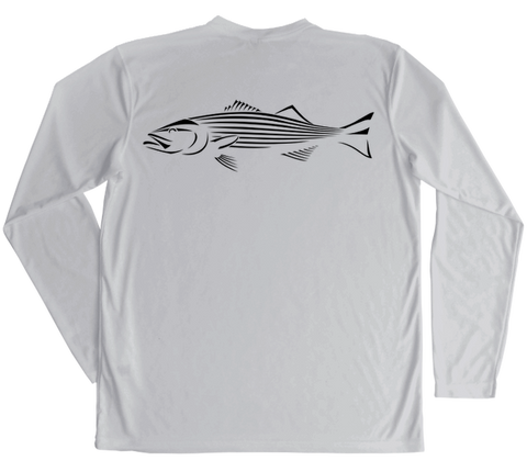 Striped Bass Performance Build-A-Shirt (Back / PG)