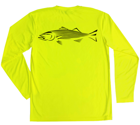 Striped Bass Performance Build-A-Shirt (Back / SY)