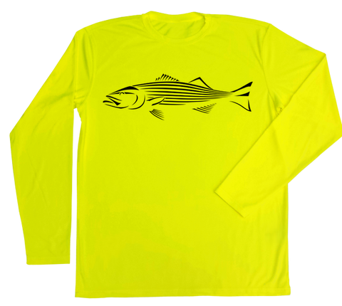 Striped Bass Performance Build-A-Shirt (Front / SY)