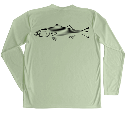 Striped Bass Performance Build-A-Shirt (Back / SE)