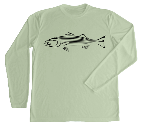 Striped Bass Performance Build-A-Shirt (Front / SE)