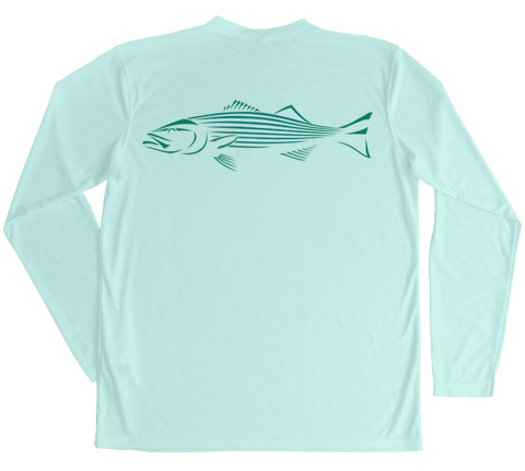 Striped Bass Performance Build-A-Shirt (Back / SG)