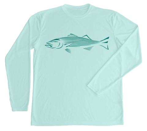 Striped Bass Performance Build-A-Shirt (Front / SG)
