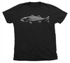 Striped Bass T-Shirt | Black Striper Shirt