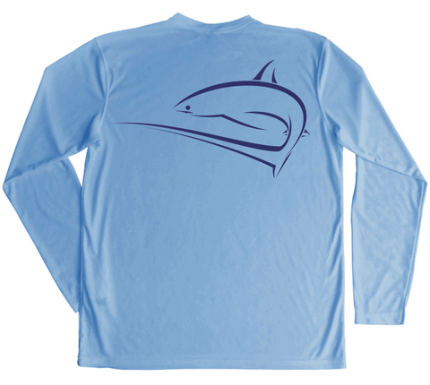 Long Sleeve Swimming Shirt | UPF Thresher Shark Shirt