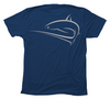 Shark Dive T-Shirt | Men's Thresher Shark Scuba Tee