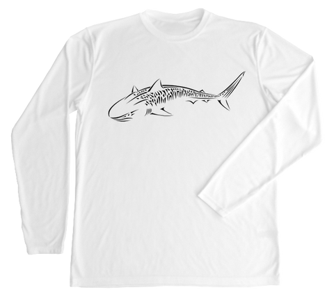Tiger Shark Performance Shirt - UV Protective Shirt