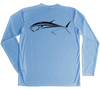 Bluefin Tuna Performance Build-A-Shirt (Back / CB)