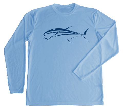 Bluefin Tuna Performance Build-A-Shirt (Front / CB)