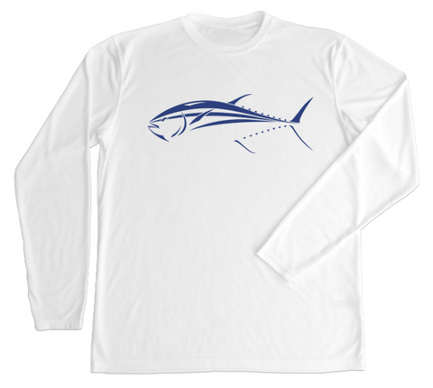 Performance Fishing Shirt - UPF Fishing L/S Tuna Shirt