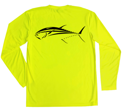 Bluefin Tuna Performance Build-A-Shirt (Back / SY)