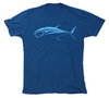 Bluefin Tuna T-Shirt - Blue Saltwater Fishing Shirt