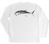 Bluefin Tuna Performance Build-A-Shirt (Back / WH)