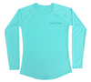 Ladies Sea Turtle Swim Shirt - Front Side - SPF