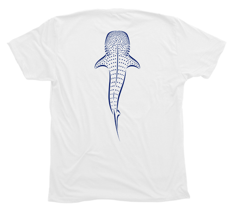 Whale Shark Limited Edition Diving Shirt - White