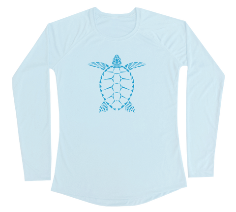 Sea Turtle Performance Build-A-Shirt (Women - Front / AB)