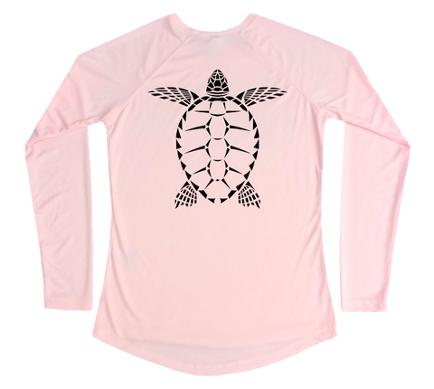 Sea Turtle Performance Build-A-Shirt (Women - Back / PB)