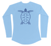 Sea Turtle Performance Build-A-Shirt (Women - Back / CB)