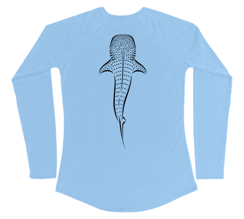 Whale Shark Performance Build-A-Shirt (Women - Back / CB)