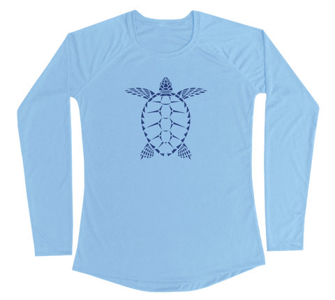 Sea Turtle Performance Build-A-Shirt (Women - Front / CB)