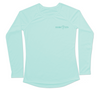 Womens Aqua UV Sun Shirt | Lobster Long Sleeve