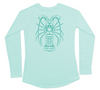 Long Sleeve Women's Sun Shirt | Lobster Quick Dry Shirt