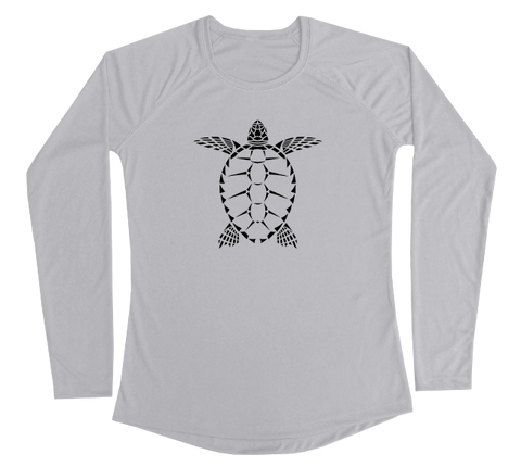 Sea Turtle Performance Build-A-Shirt (Women - Front / PG)