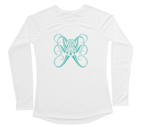Octopus Performance Build-A-Shirt (Women - Front / WH)