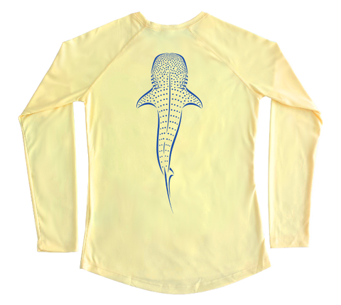 Whale Shark Performance Build-A-Shirt (Women - Back / PY)
