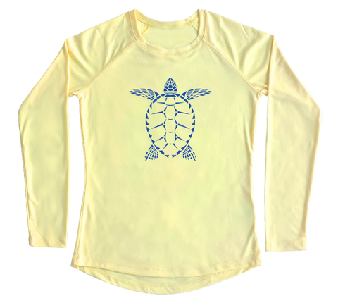Sea Turtle Performance Build-A-Shirt (Women - Front / PY)