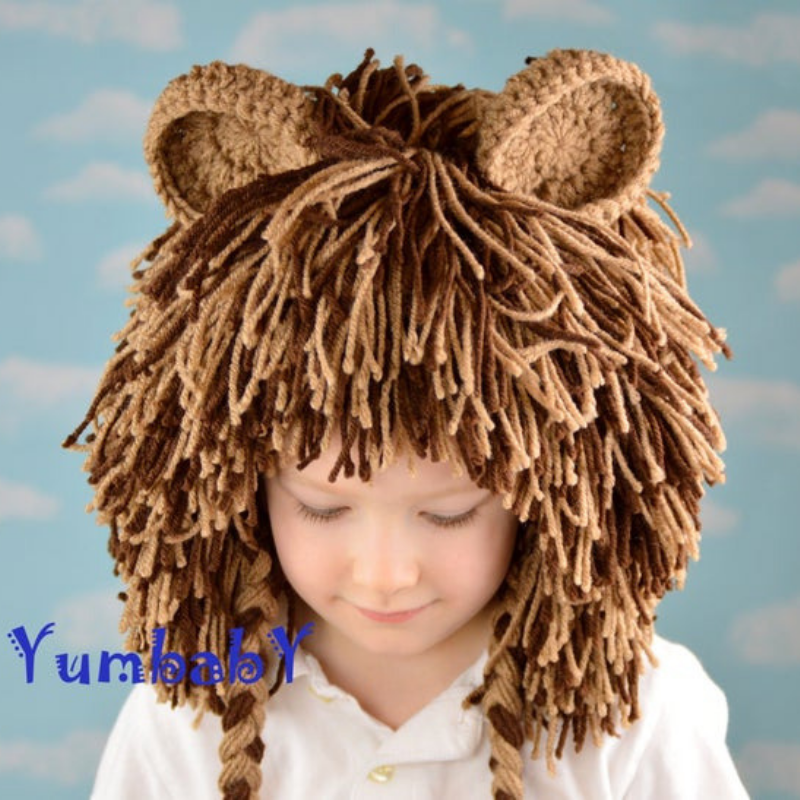 Lion Hat - Dark Brown