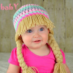 Beanie Braids  - Mint, Light Pink, Grey, Neon pink,
