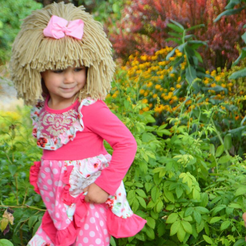 Cabbage Patch Costume and Wig